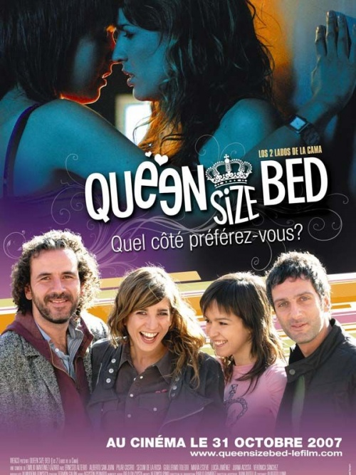Queen Size Bed affiche