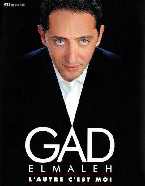 Gad Elmaleh - L'autre c'est moi affiche