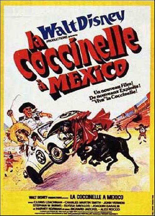 La Coccinelle 4 - La Coccinelle à Mexico affiche