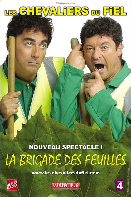 Les Chevaliers du Fiel - La brigade des feuilles poster