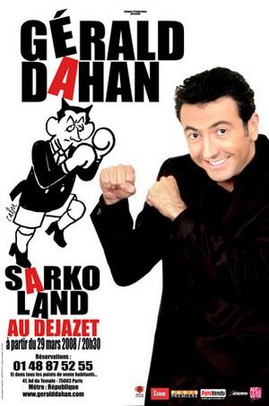 Gérald Dahan - Sarkoland affiche