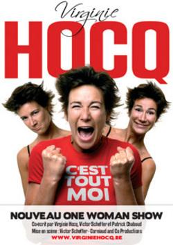 Virginie Hocq - C'est tout moi affiche