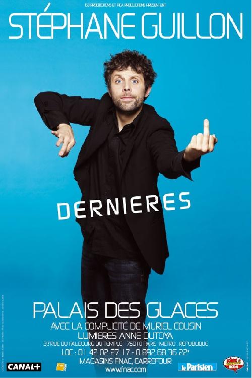 Stéphane Guillon - Au Palais des Glaces affiche