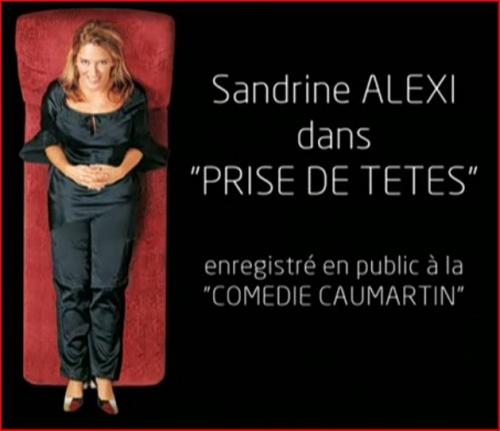 Sandrine Alexi - Prise de têtes affiche