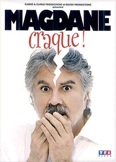 Roland Magdane - Magdane craque ! affiche