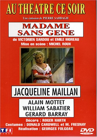 Madame sans gêne (1974) affiche