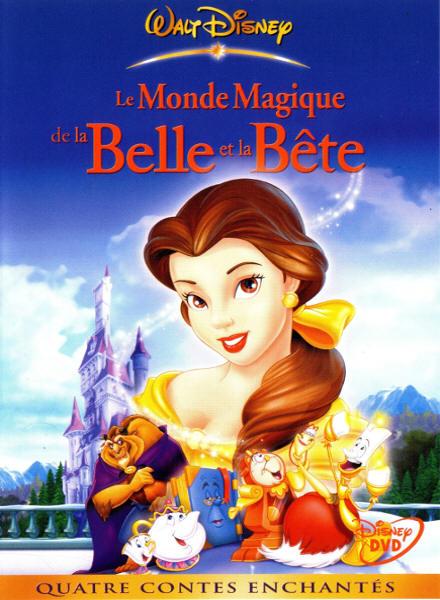 affiche film La Belle et la B�te 3 : le monde magique de la Belle et la B�te