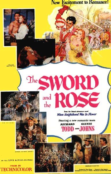 La Rose et l'épée affiche
