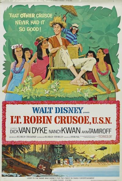 Lt. Robin Crusoe, U.S.N. affiche