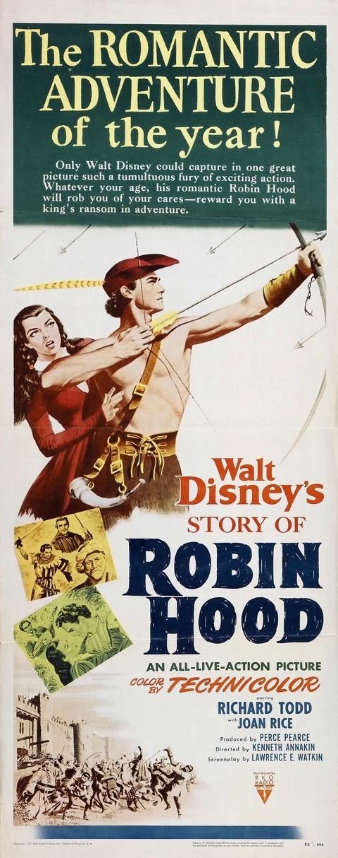 Robin des bois et ses joyeux compagnons affiche