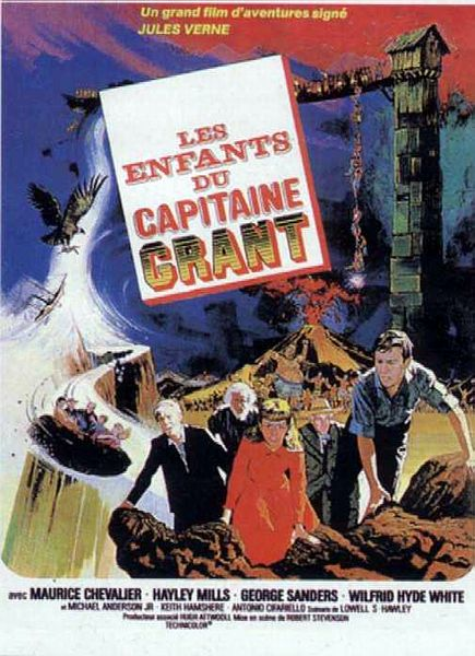Les enfants du capitaine Grant streaming