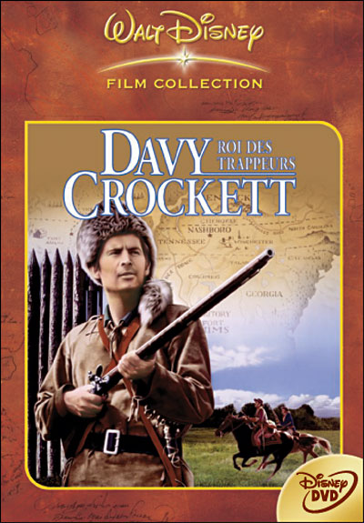 Davy Crockett, roi des trappeurs affiche