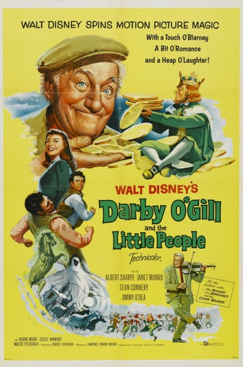 Darby O'Gill et les Farfadets affiche