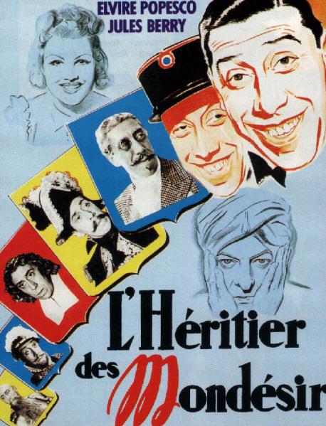 L'Héritier des Mondésir affiche