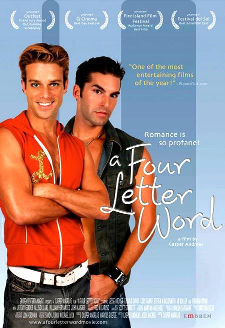 A Four letter word affiche