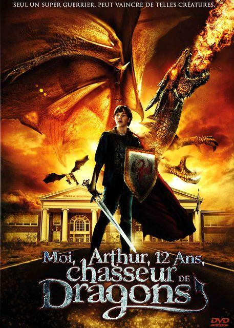 Moi, Arthur, 12 ans, chasseur de dragons affiche