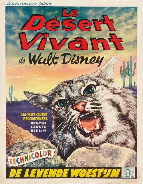 Le Désert Vivant affiche