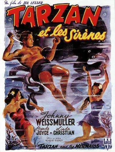Tarzan 12 - Tarzan et les Sirènes affiche