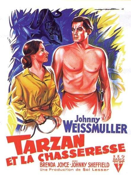 Tarzan 11 - Tarzan et la chasseresse affiche