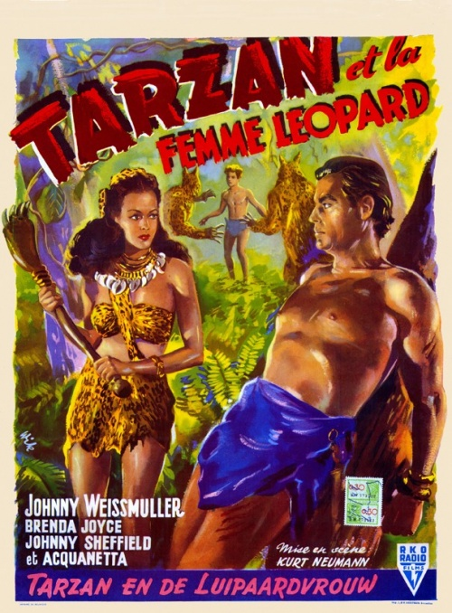 Tarzan 10 - Tarzan et la femme Lopard...