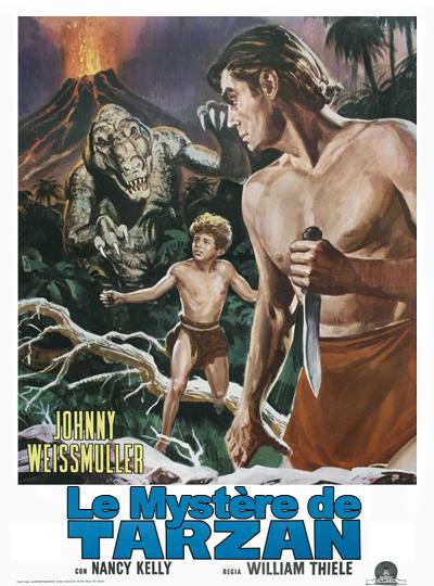Tarzan 08 - Le mystère de Tarzan affiche