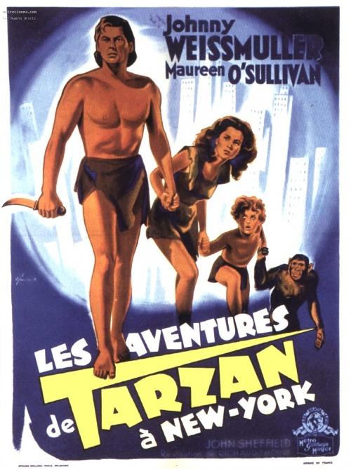 Tarzan 06 - Les aventures de Tarzan à New York affiche