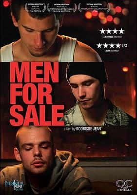 Hommes à louer affiche