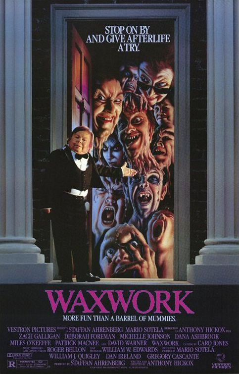 Waxwork affiche