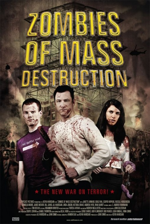 Zombies Of Mass Destruction affiche