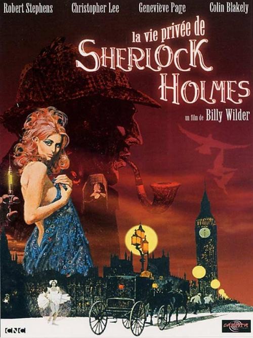 La vie privée de Sherlock Holmes affiche