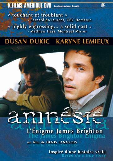 Amnésie, l'énigme James Brighton affiche