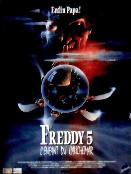 Freddy 5 : l'enfant du cauchemar affiche