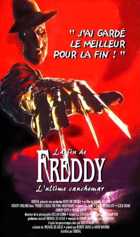 Freddy 6 : La fin de Freddy - L'ultime cauchemar affiche
