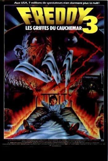Freddy 3 : les griffes du cauchemar affiche