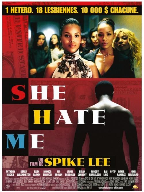 She hate me affiche