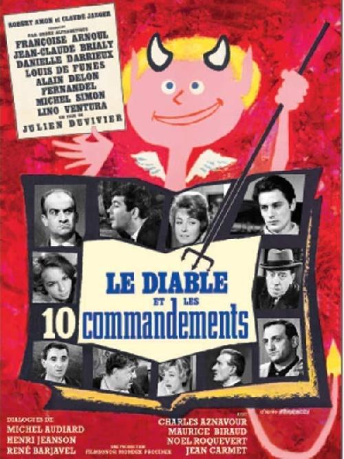 Le Diable et les dix Commandements affiche