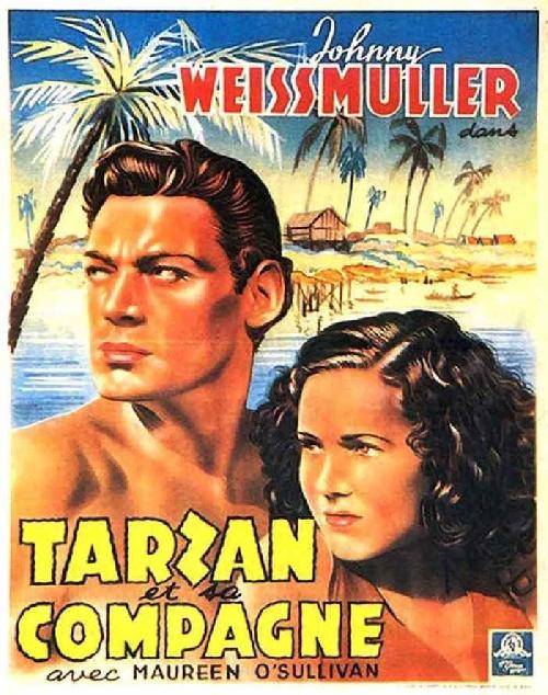 Tarzan 02 - Tarzan et sa compagne affiche
