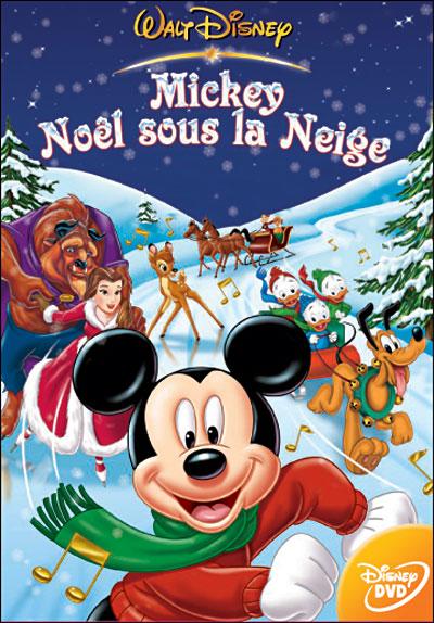 Mickey, Noël sous la neige affiche
