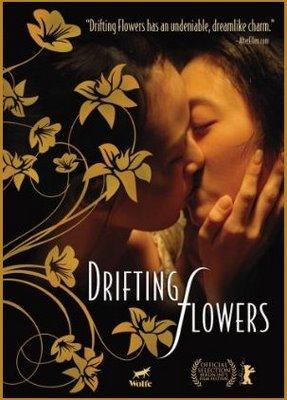 Drifting Flowers - Fleurs à la dérive affiche