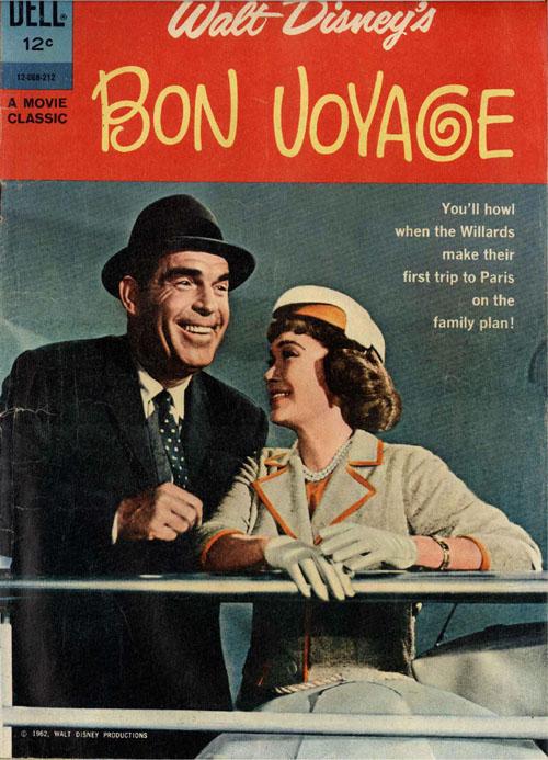 Bon Voyage ! (1962) affiche