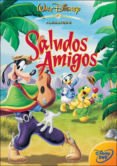 Saludos Amigos affiche