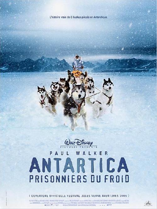 Antartica, prisonniers du froid poster